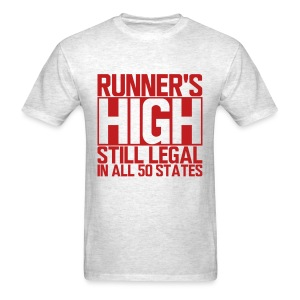 Runner's High - Men's T-Shirt