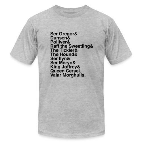 Valar Morghulis (Dark Text) - Men's Fine Jersey T-Shirt