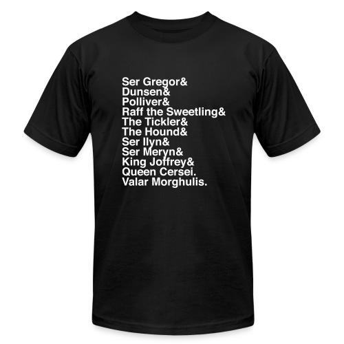 Valar Morghulis - Men's Fine Jersey T-Shirt