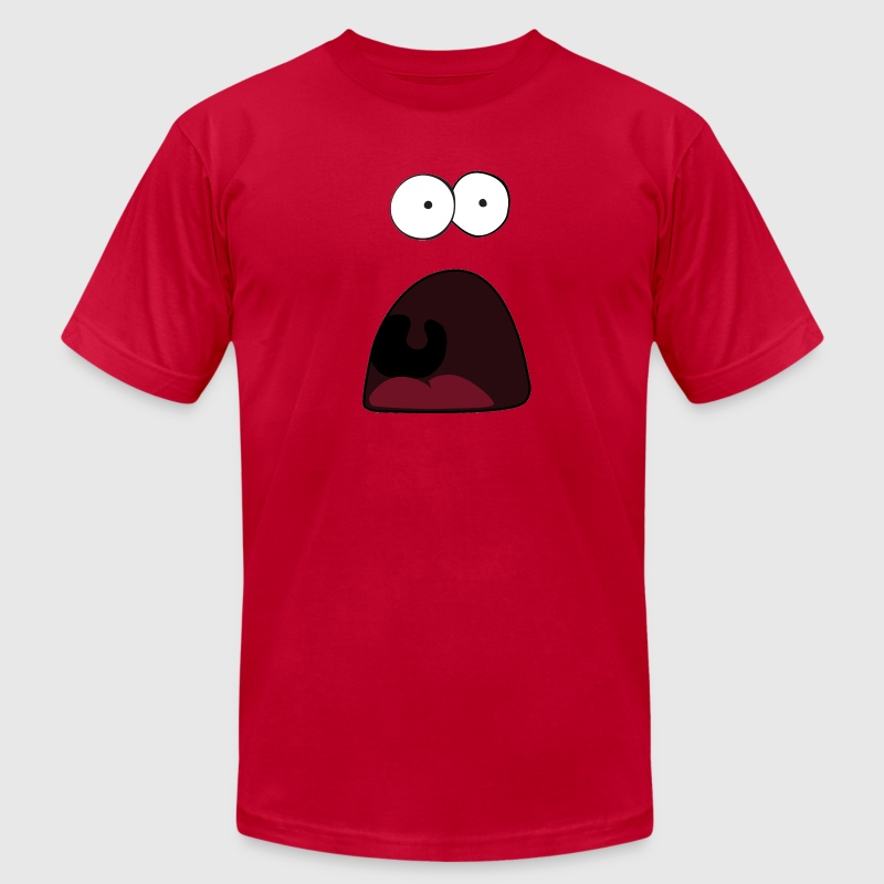 Surprised Patrick T-Shirts - Men's T-Shirt by American Apparel