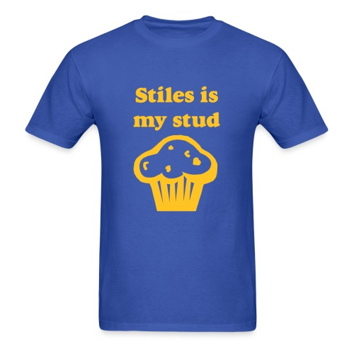 Stiles Is My Stud Muffin - Men's T-Shirt