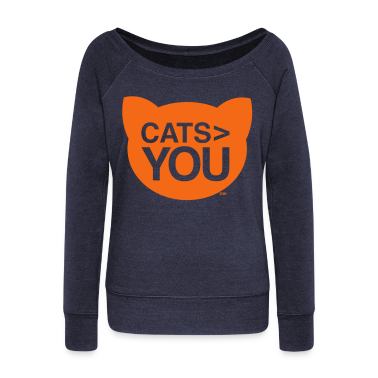 cats greater than you Cat Versus Humans mp Long Sleeve Shirts