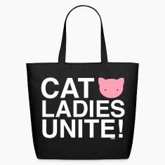 cat ladies unite Cat Versus Humans mp Bags