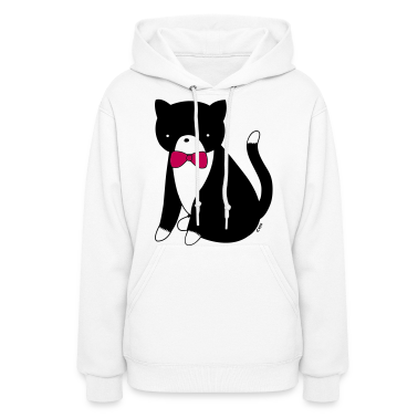 Tuxedo Cat Cat Versus Humans mp Hoodies