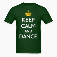 Keep Calm And Dance mp T-Shirts