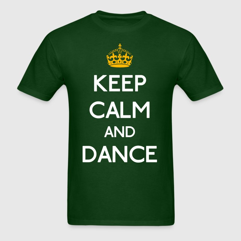 Keep Calm And Dance mp T-Shirts - Men's T-Shirt