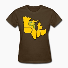 Im With Stupid Milwaukee Mart Women's T-Shirts