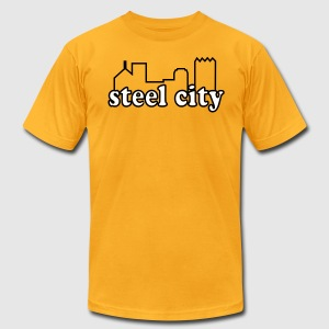 Steel City - Men's T-Shirt by American Apparel