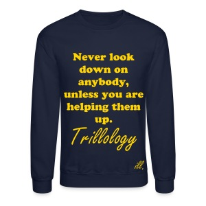 Look Up Trillology Men's Sweater - Crewneck Sweatshirt
