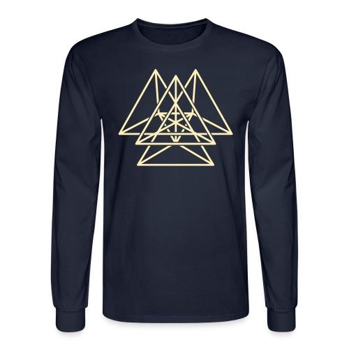 5D Star of Deva - Men's Long Sleeve T-Shirt