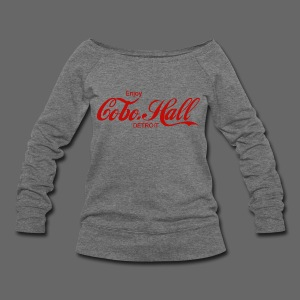 Women's Wide Neck Sweatshirt - Women's Wideneck Sweatshirt