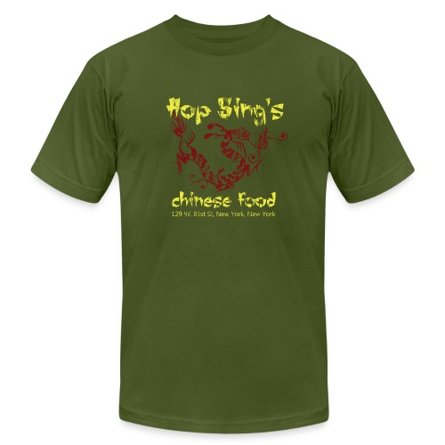 Hop Sing's Chinese Food - American Apparel - Men's Fine Jersey T-Shirt
