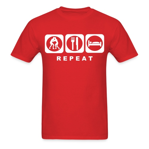 Alex Domination 'Eat Sleep Dominate' T-Shirt - Men's T-Shirt