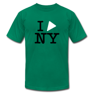 T-Shirts ~ Men's T-Shirt by American Apparel ~ Play Framework NY (Dark Text)