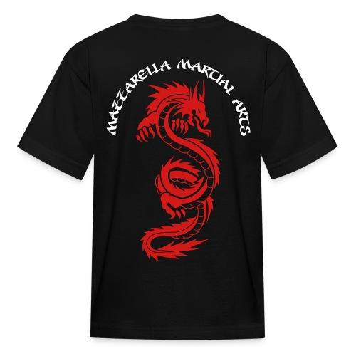Kids' T-Shirt: Red Dragon - BLACk - Kids' T-Shirt