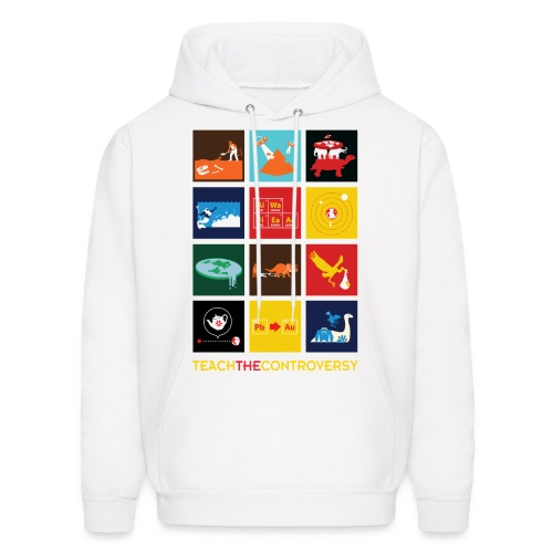 Teach the Controversy [multi] - Men's Hoodie
