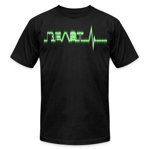 Beast Beat- Green - Men's T-Shirt by American Apparel
