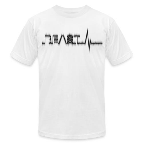 Beast Beat- Black - Men's Fine Jersey T-Shirt