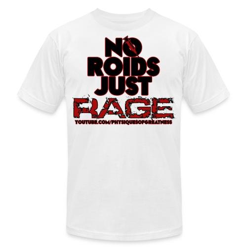 No Roids BlackText - Men's Fine Jersey T-Shirt