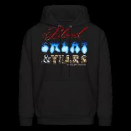 Hoodies ~ Men's Hoodie ~ Blood Sweat & Years HOODIE