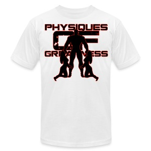 Muscle Worshiper Front Only (Red) - Men's T-Shirt by American Apparel