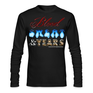 Blood Sweat & Years SWEATER - Men's Long Sleeve T-Shirt by Next Level