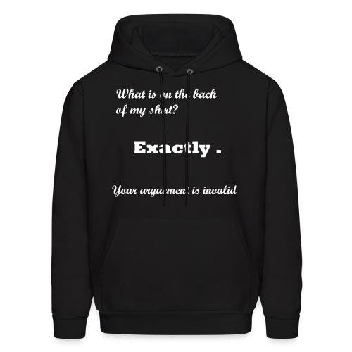 Men's Dark Sweatshirt Your Argument is Invalid - Men's Hoodie