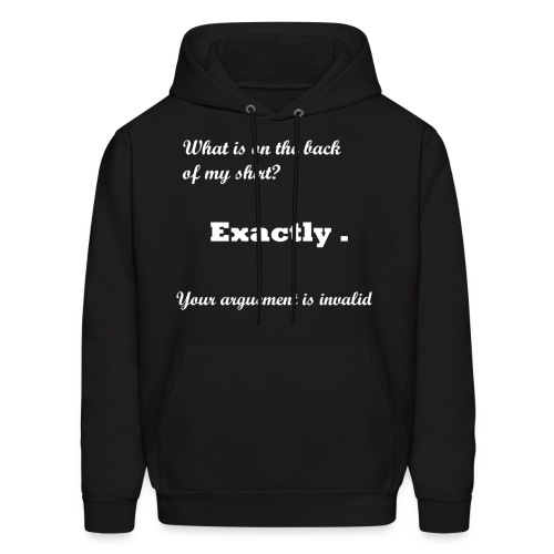 Men's Dark Sweatshirt Your Argument is Invalid - Men's Hoodie
