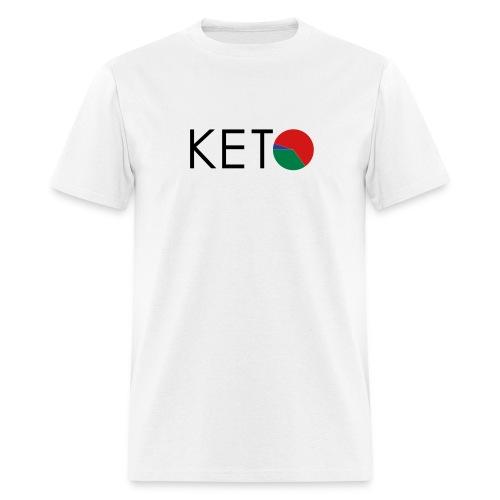 KETO Vector Men's T-Shirt - Standard Weight Cotton - Men's T-Shirt