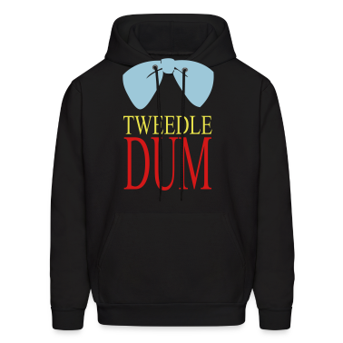 tweedle dum Hoodies