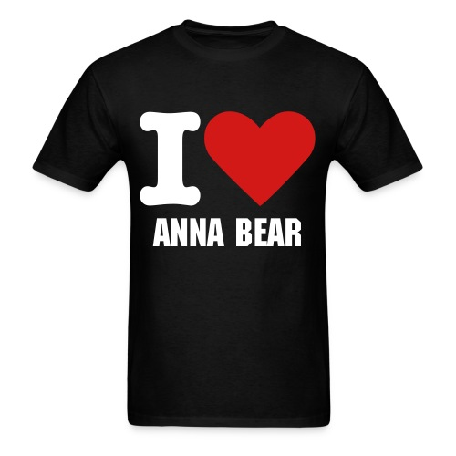 I HEART ANNA BEAR - Men's T-Shirt
