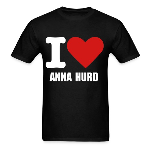 I HEART ANNA HURD - Men's T-Shirt