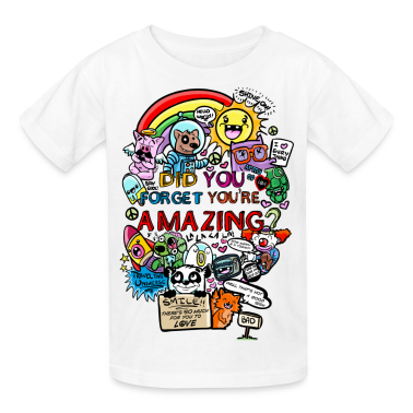 You are amazing Kids' Shirts