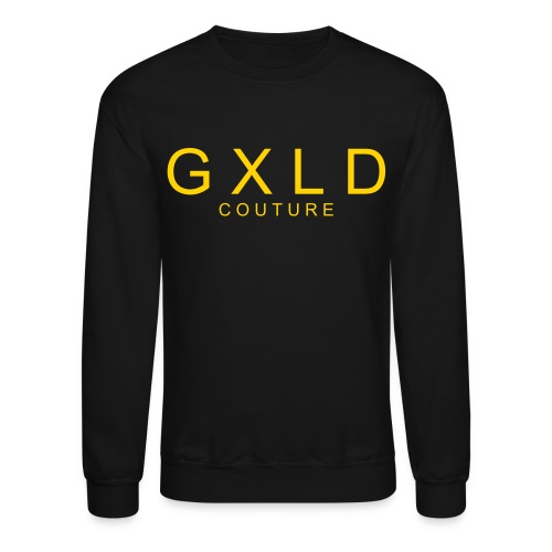 Men's Crewneck Original Gold Couture Logo - Crewneck Sweatshirt