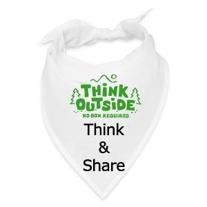 Think Outside! - Bandana