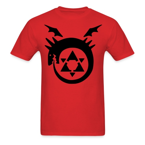 Homunculus T-Shirt (B/R) - Men's T-Shirt