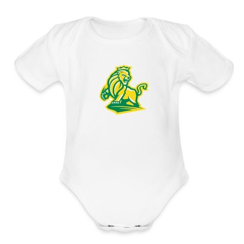 Short sleeved   - Monarch - Organic Short Sleeve Baby Bodysuit