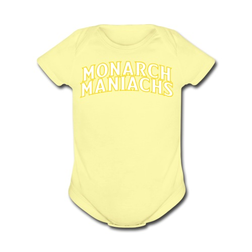 Short sleeve   - Maniachs - Organic Short Sleeve Baby Bodysuit