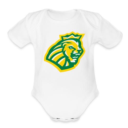 Short sleeve   - Head - Organic Short Sleeve Baby Bodysuit