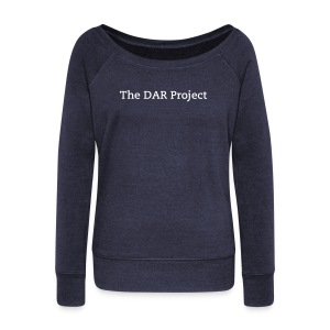 Women's DAR Sweatshirt - Women's Wideneck Sweatshirt