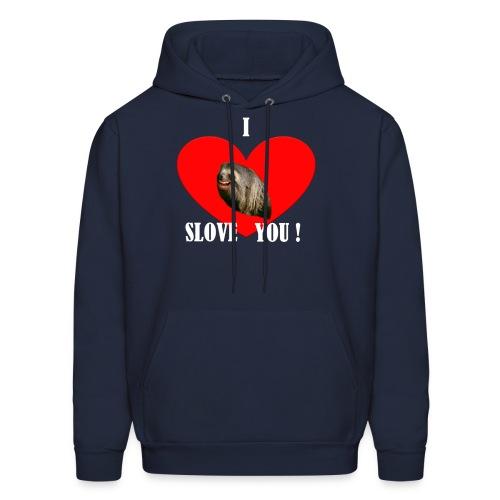 Men's Sweatshirt I Slove you - Men's Hoodie