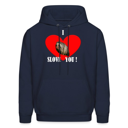 Men's Sweatshirt I Slove you - Men's Hoodie