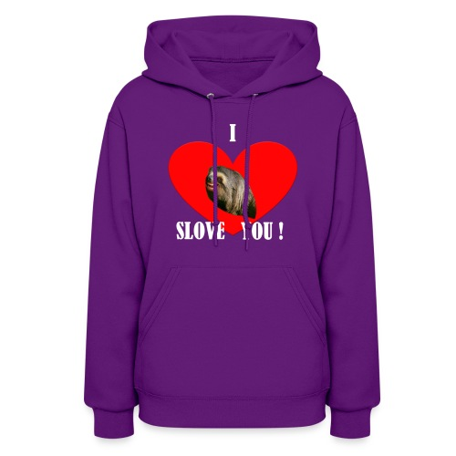 Women's Sweatshirt I Slove you - Women's Hoodie