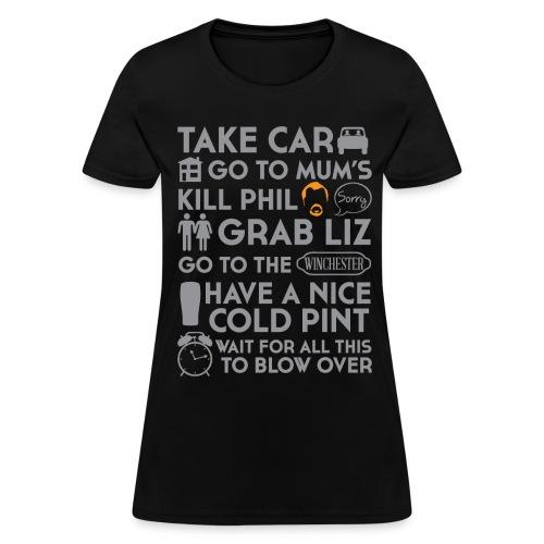 SHAUN OF THE DEAD TO DO LIST - Women's T-Shirt
