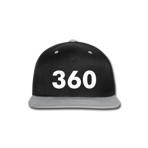 360 Snapback - Snap-back Baseball Cap