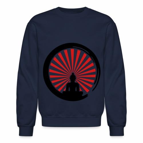Enso, Zen Circle of Enlightenment, Buddha, Japan - Crewneck Sweatshirt