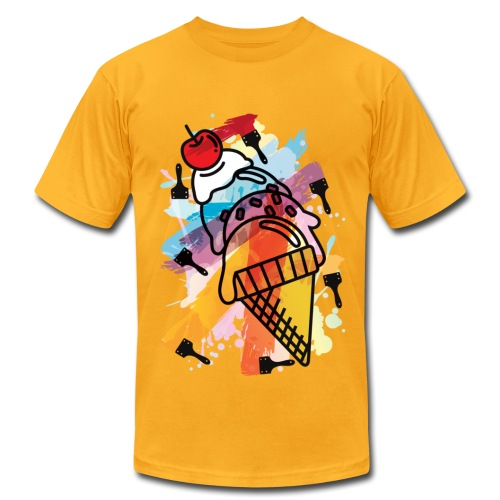 ICE CREAM PAINT - Men's Fine Jersey T-Shirt