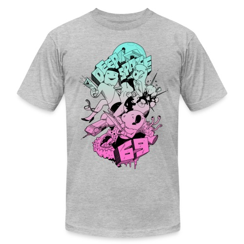 Deep Space 69 - Action - Men's Fine Jersey T-Shirt