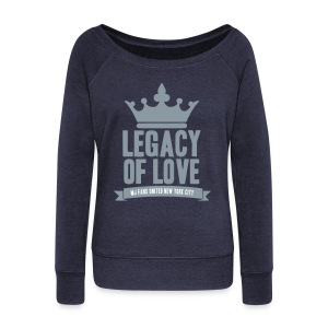 Silver Legacy Sweater - Women's Wideneck Sweatshirt