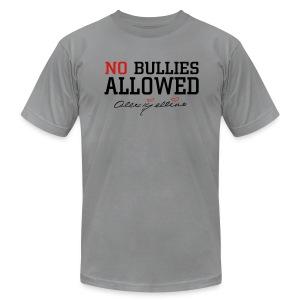 No Bullies Allowed by Alexis Bellino - Men's Fine Jersey T-Shirt